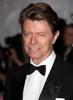 David Bowie arrives to the Metropolitan Museum of Art Costume Institute Gala, Superheroes: Fashion and Fantasy, held at the Metropolitan Museum of Art on May 5, 2008 in New York City.  (Photo by Andrew H. Walker/Getty Images)
