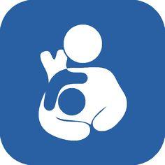 International Breastfeeding Symbol with a Toddler Twist