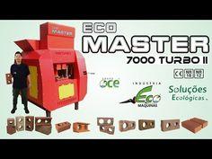 Tijolo Ecológico - Linha Eco Master Turbo II - YouTube