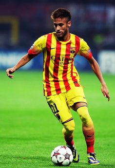 Neymar JR the best soccer teacher ever he thought me how to play soccer