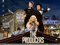 Theme based on the Mel Brooks musical re-turned movie, The Producers. Description from appleblossomart.net. I searched for this on bing.com/images