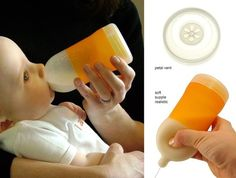 Adiri Natural Nurser... Now this is a bottle that resembles what it's really like breast feeding. I like these! 3 for $27. So wish i would've had this!
