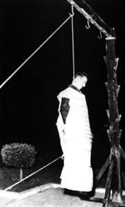 On 18 May 1965, Cohen was publicly hanged in the Marjeh Square in Damascus. On the day of his execution, Cohen's last wish to see a Rabbi was respected by the prison authorities. While on his way to the Marjeh Square in a truck, he was accompanied by Nissim Andabo, the 80-year-old Chief Rabbi of Syria.