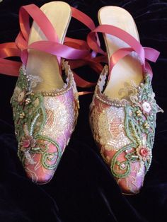 gussied up shoes.....love these so much.
