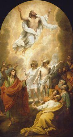 """theraccolta:  """" Benjamin West, bozzetto per l'Ascensione, 1782 circa, Tate Gallery, Londra  """""""