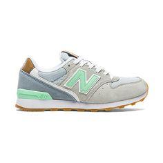 promo code 85b01 aaca2 New Balance 696 Sneaker en Gris   Vert