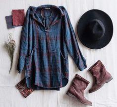 Campfire Shirt Dress