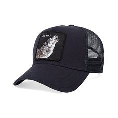 Goorin Brothers Wolf Trucker Hat (32 CAD) ❤ liked on Polyvore featuring  men s fashion 4834e8a7de