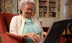 Afbeeldingsresultaat voor old people and technology