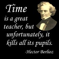 Composer Hector Berlioz's witty and unsubtle irony