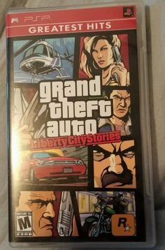 Grand Theft Auto: Liberty City Stories Game for the Sony Playstation Portable (PSP). Newest Playstation, Playstation Portable, Nintendo 3ds, Ps4, Grand Theft Auto Series, Xbox One Games, Greatest Hits, Video Game, Liberty