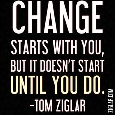 On our Zig Ziglar Leadership Series webcast with Brian Buffini he pointed out that you can have a massive impact for the good by simply replacing a bad habit with a good one. As an example instead of eating a donut for breakfast you could have a piece of fruit and take a 10 minute walk. What habits are you going to change and replace today?