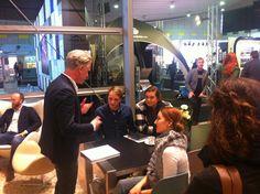 Eventprofi Piet-Harm Sterk live und im persönlichen Gespräch mit der #GenY bei der #BOE16.