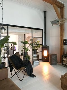 Contemporary Decor, Modern Decor, Industrial Chic Decor, Old Factory, Fire Places, Transitional Decor, Winter Solstice, Yule, Home And Living
