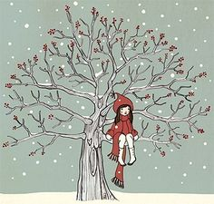 Sweet and beautiful illustration by Mandy Sutcliffe, a Brit illustrator who has a great passion for her work. She has some very nice prints, cards, stickers, badges and other handmade stuff for sale at her store.