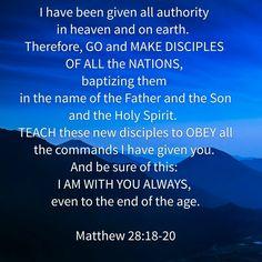 Mt 28:18