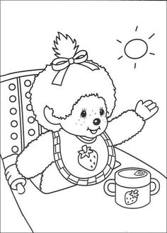 Monchhichis Coloring Pages 3