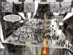 Kem Roomhaus-designed, glass floor nightclub called 'The Ceiling' in NYC - see 'Batman: Death by Design'