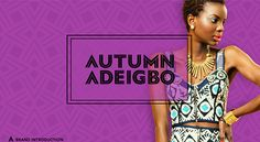 Autumn Adeigbo brand asset reveal