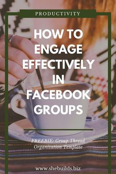 Engage Effectively in Facebook Biz Groups