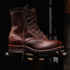 Mens Austen 1000 Mile Lacer - - Vintage Boots may keep a eye out for these. Wolverine Work Boots, Me Too Shoes, Men's Shoes, Mens Work Shoes, Fashion Boots, Mens Fashion, Fall Fashion, Style Hipster, Men Boots