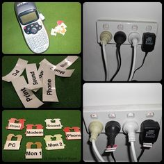 good way to label your cords.
