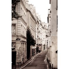 Paris Photo Street Scene by Paris Plus - modern - artwork - Etsy ❤ liked on Polyvore featuring backgrounds, pictures, photos, images and places