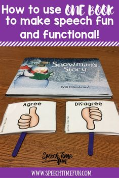Believe it or not, you can make one book functional for an entire speech therapy lesson! Read this post to learn how I target several skills with one book! Main Idea Activities, Speech Therapy Activities, Language Activities, Book Activities, Speech Language Pathology, Speech And Language, Receptive Language, Speech Room, Target