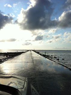 Passage du Gois à Beauvoir-sur-Mer, Pays de la Loire