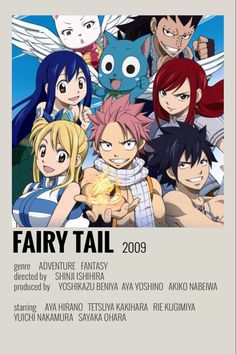 fairy tail poster by emily