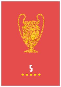 5 European Championships, the most of any English club. YNWA