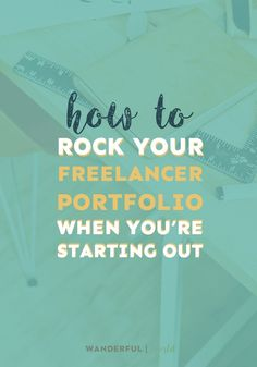 Ready to start freelancing but don't have any work to offer as samples? Here are some ways you can create a freelancer portfolio from scratch!