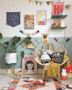 Ive been undercover the last few days as a small business that creates every single order by hand I cant compete with all the million discount codes (that we all get over holidays) and I took a few da Decoration Inspiration, Room Inspiration, Workspace Inspiration, Deco Boheme, Big Girl Rooms, Kid Spaces, Kids Decor, Girls Bedroom, Bedrooms