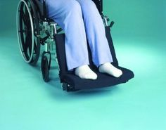 Hermell Foot Friendly Cushion - Sku HRMWC2218 by Hermell. $16.65. Relaxes and protects feet and legs while sitting against supportive foot rest. Easily velcros to wheelchair for security. Polyurethane foam with black twill cover. Spot clean with mild detergent. Fits most standard size wheelchairs.