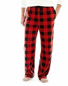 jcpenney Stafford® Microfleece Sleep Pants on shopstyle.com