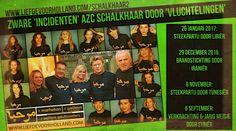 HET IS HELEMAAL MIS in AZC Schalkhaar! - Liefde voor Holland