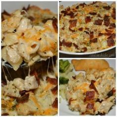 Chicken Bacon Ranch Casserole - The Cookin Chicks