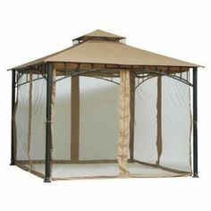 10' x 10' Mosquito Net for Gazebo - Mosquito Net Cover with Velcro Product SKU: GA01003 by PSW- Decor and Accents. $39.89. Dimensions: 79.5 H x 118 W x 118 DIncludes: Velcro straps for attaching, cream trimOther:. Product SKU: GA01003Weight: Approximately 11.11 lbs.Use: Outdoor use only. Made for Avondale gazebo. Material: Netting and Velcro. Pier Surplus will refund the purchase price for any UNUSED item within 30 days of the purchase date. To make a return, please shi...
