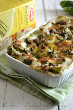 Ricetta lasagne con pesto e zucchine| Dolce e Salato di Miky