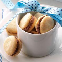 Mocha Sandwich Cookies Recipe from Taste of Home