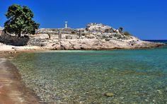 kos Ruins of ancient town Astipalea in Kefalos