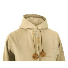 Monitaly Hooded Field Jacket #fashion #apparel
