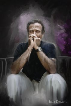 RIP Robin Williams 2 by JDewantiArt.deviantart.com on @DeviantArt