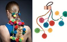 It's the latest look in a slew of crazy hair accessories to hit the market.
