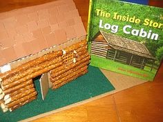Build an edible log cabin ~Maybe Triscuits for the roof?