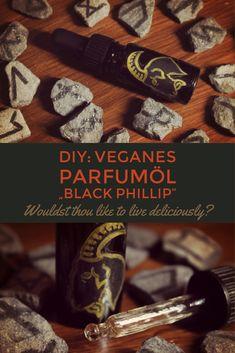 #BlackPhillip #diy #vegan #Parfümöl #parfum #scent #witch #halloween #Vanille #patchouli #Lavendel #thewitch #natural #veganbeauty Black Phillip, Vegan Beauty, Blog, Diy, Witch, Halloween, Natural, Inspiration, Free