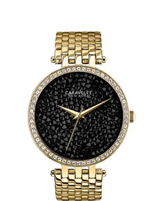 Who wouldn't want this?! Gold watch with black face... GORGEOUS! --- $120