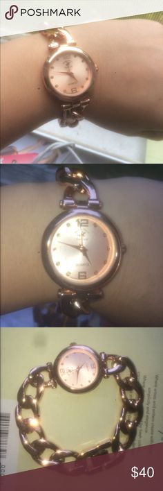 Rose Gold Watch Pretty rose gold light watch beverly hills polo club Accessories Watches