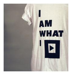 Bought! Black Balloon - I am what I PLAY T-shirt