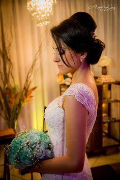 Vestido de Noiva de renda renascença!
